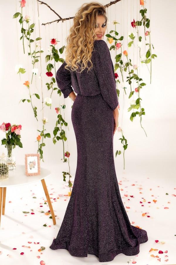 Rochie de seara Purple Glitter