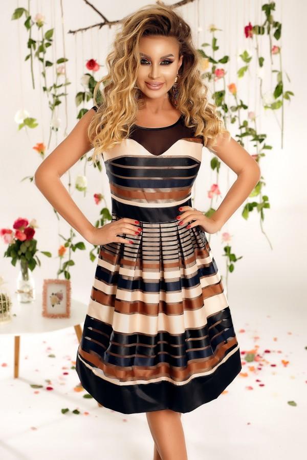 Rochie Cassandra multicolor