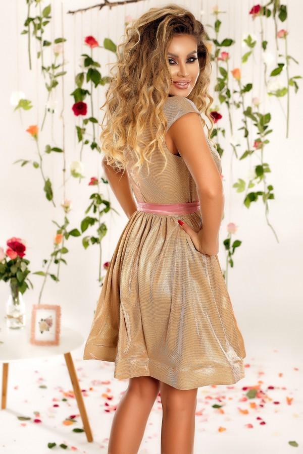 Rochie de seara Julia auriu