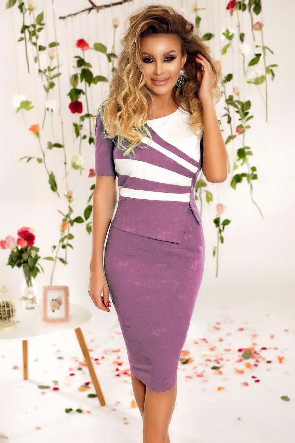 Rochie eleganta Cali lila