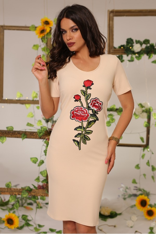 Rochie Beige Fashionable