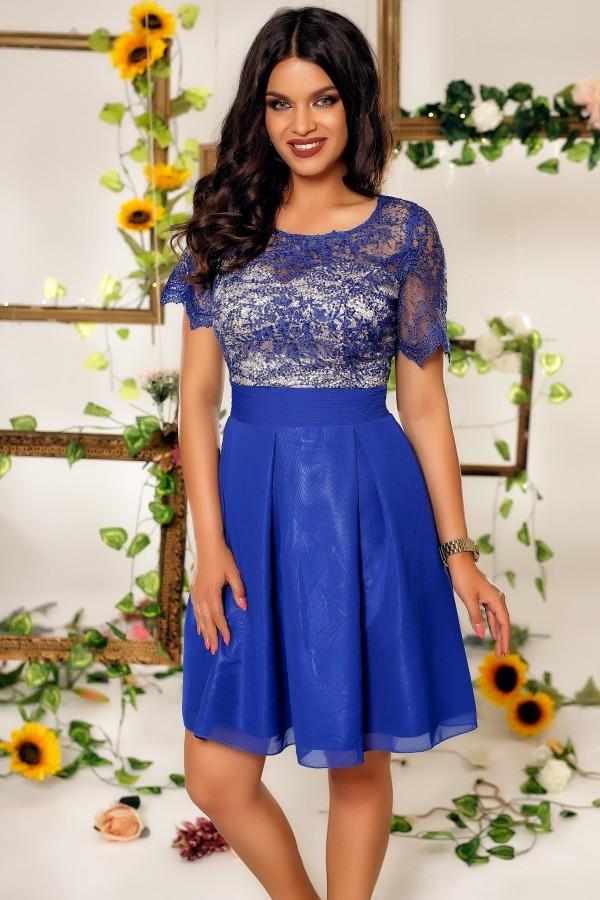 Rochie Haven albastra
