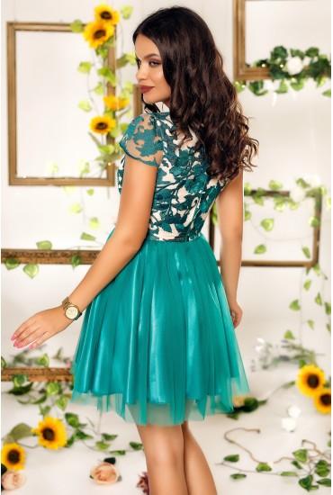 Rochie Jessa verde