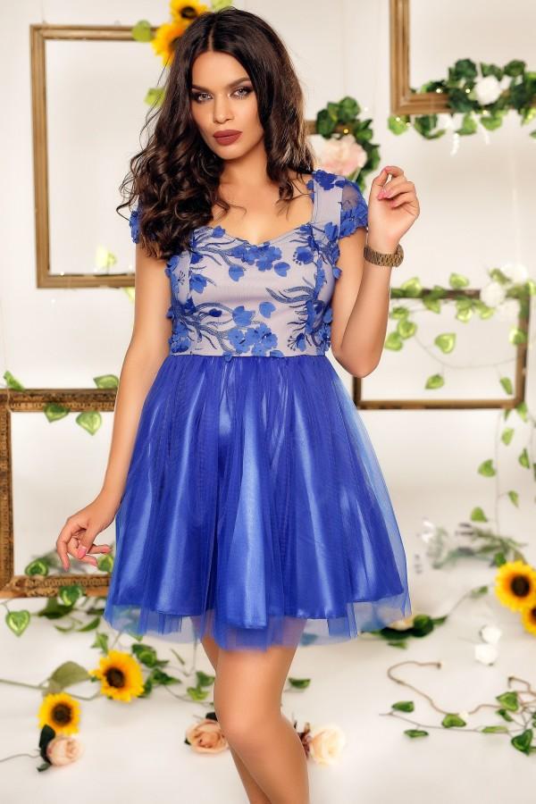 Rochie Clarissa albastra