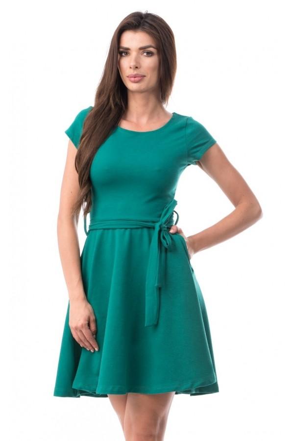 Rochie Amaya verde in clos
