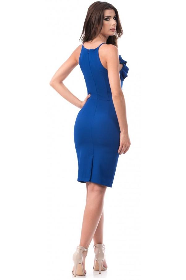 Rochie Renata croi mulat albastru