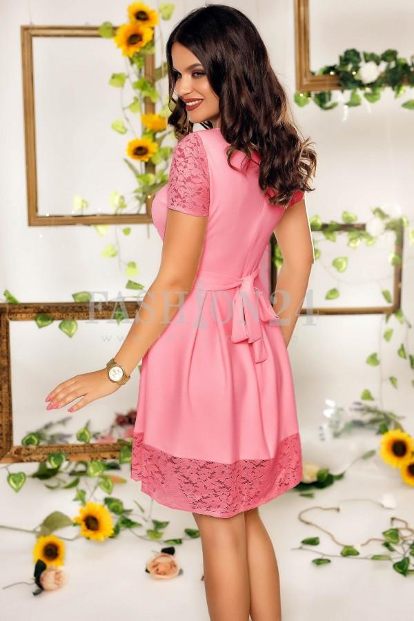 Rochie Lydia roz