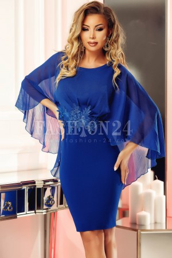 Rochie albastra Seleny