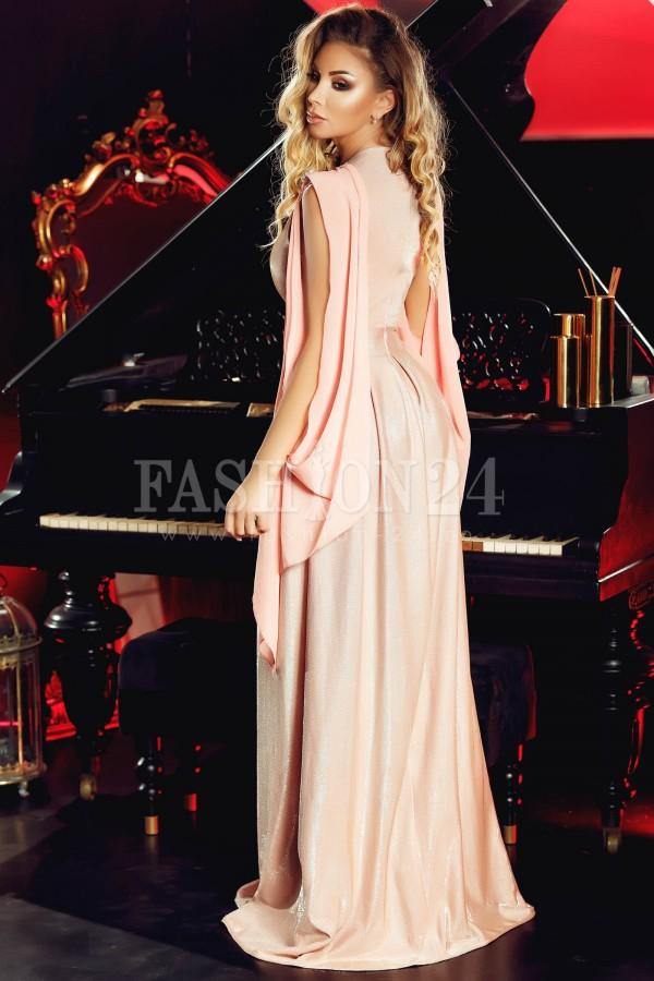 Rochie rose glitter