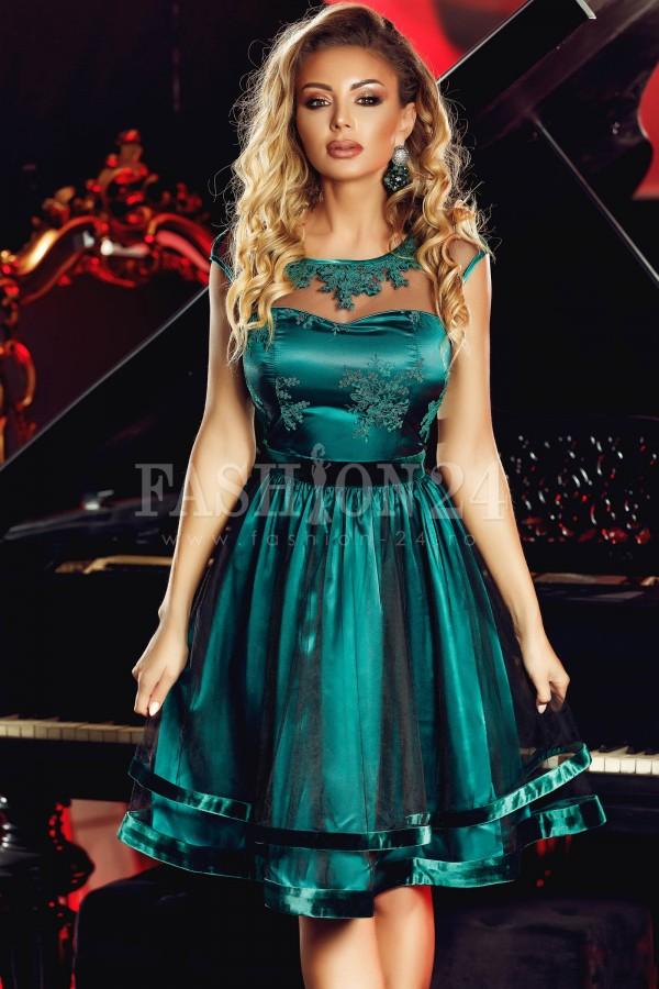 Rochie Luxurious Green