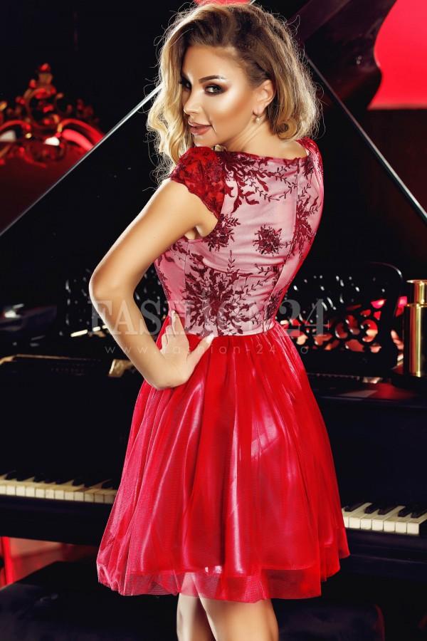 Rochie Anelise rosie