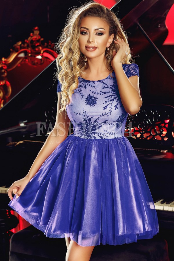 Rochie Anelise albastra