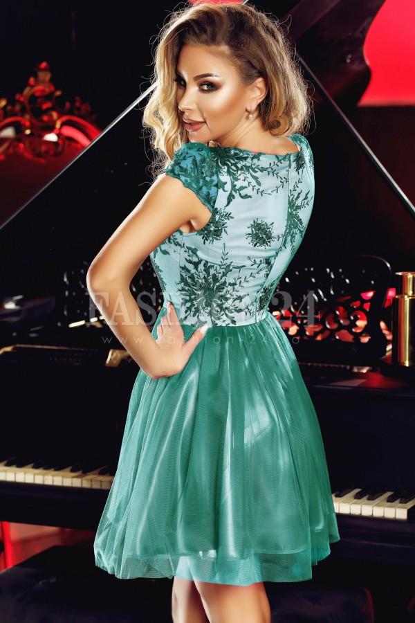 Rochie Anelise verde