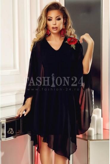 Rochie Anais neagra eleganta