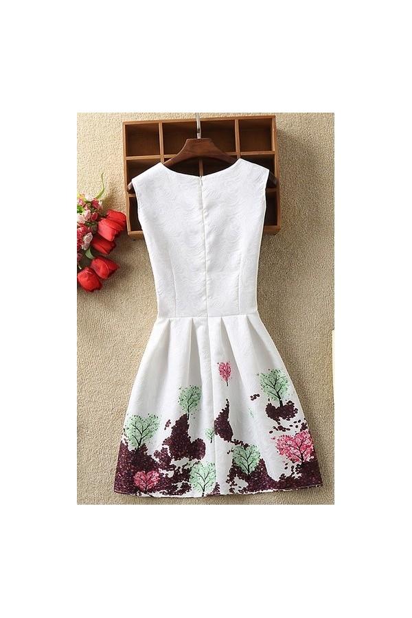 Rochie cu imprimeuri Alessia multicolor