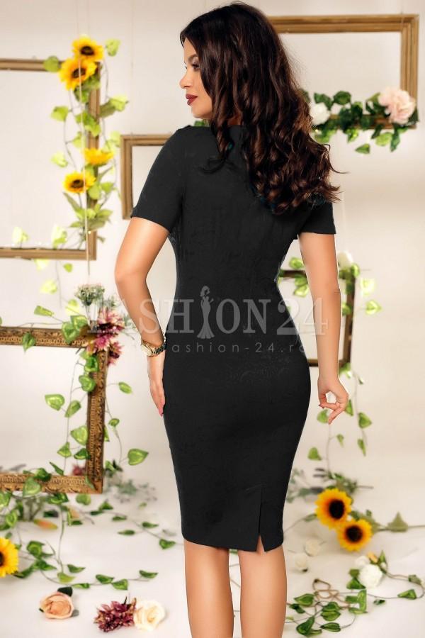 Rochie de ocazie Sharon negru alb