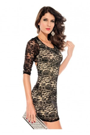 Rochie Nude Lace