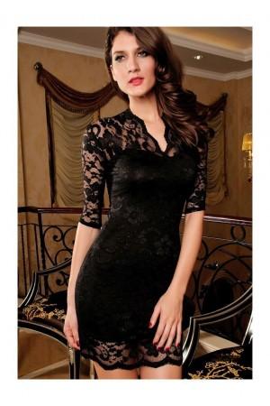 Rochie Mini Slim Black