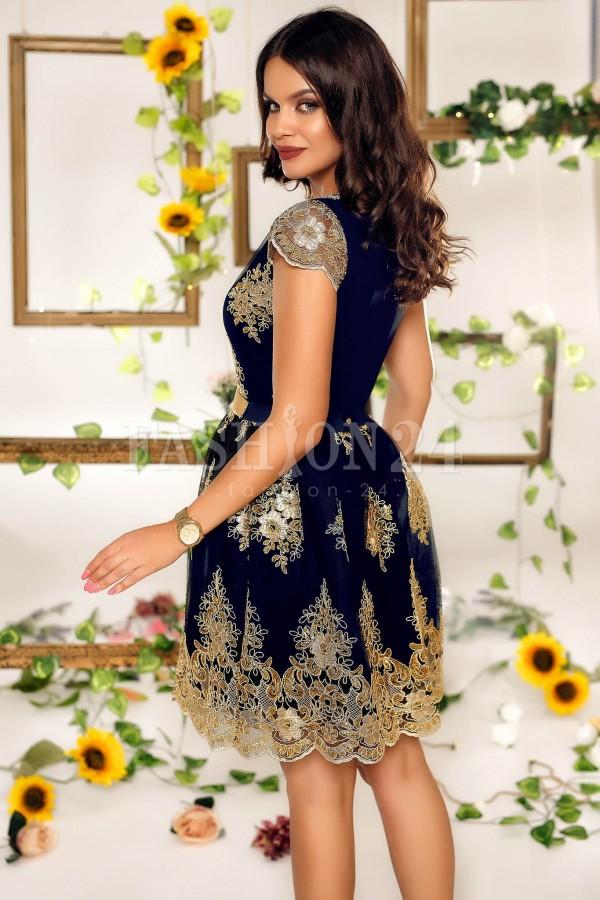 Rochie de seara Bria bleumarin
