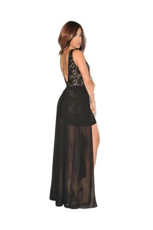 Rochie Rafined Evening Black