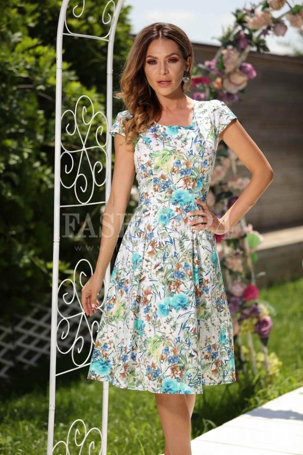 Rochie Allie cu imprimeuri de vara