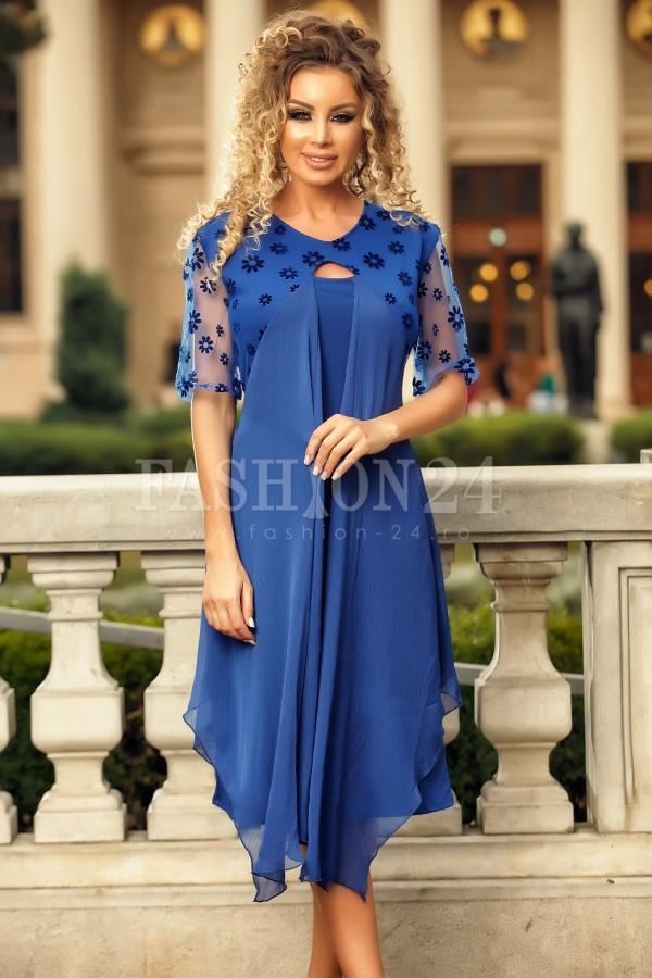 Rochie de ocazie Susan albastra