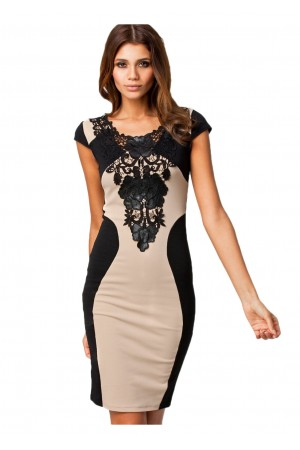 Rochie Floral Embroidery