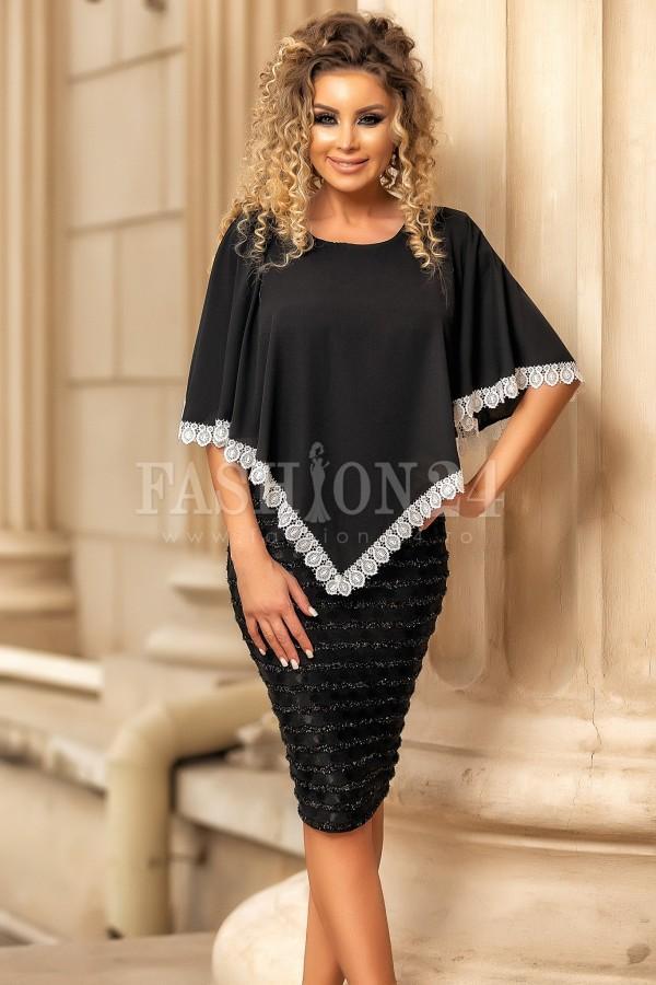 Rochie de seara Sonia neagra