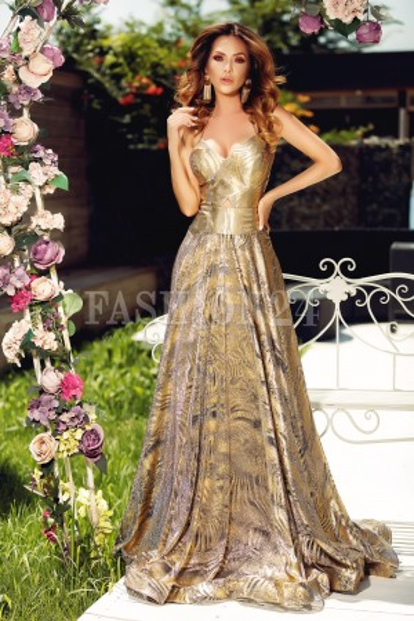 Rochie lunga de seara Sofia
