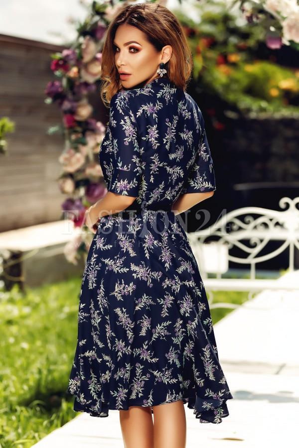 Rochie de vara cu imprimeuri elegante