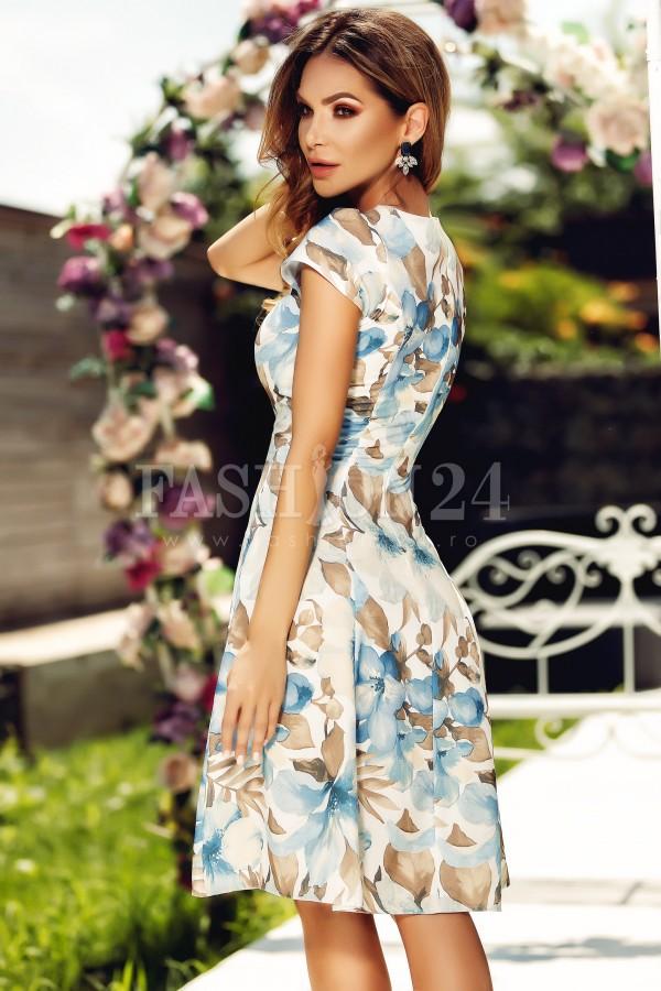 Rochie Alexis cu imprimeuri de vara