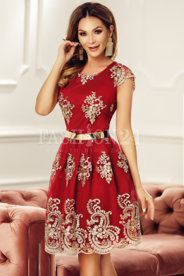 Rochie de seara Bria rosie