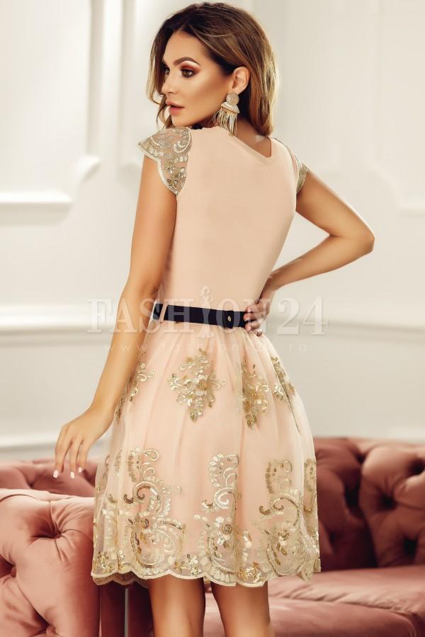 Rochie de seara Bria roz