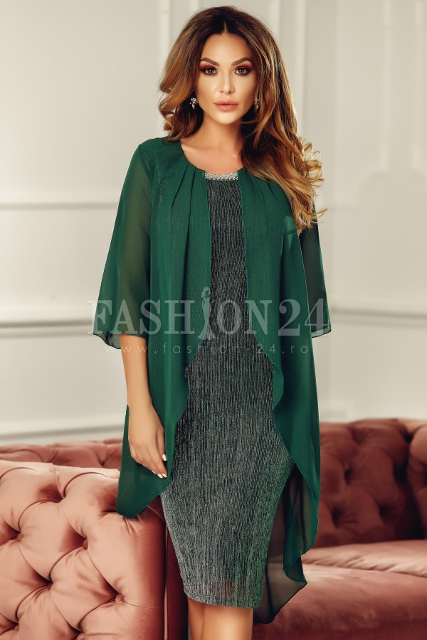 Rochie de seara eleganta verde