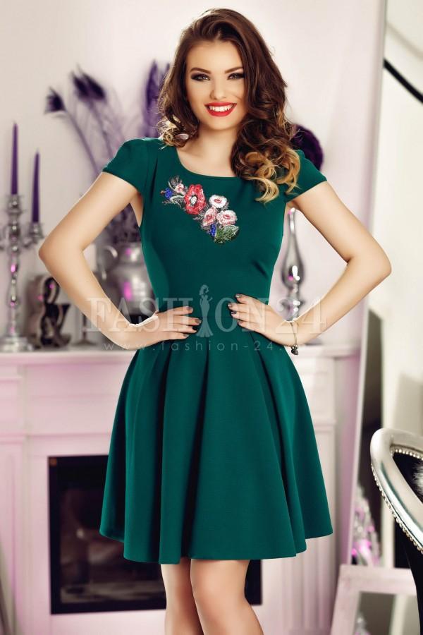 Rochie Green Precious