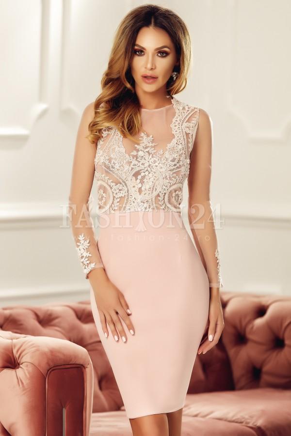 Rochie de seara Maia roz