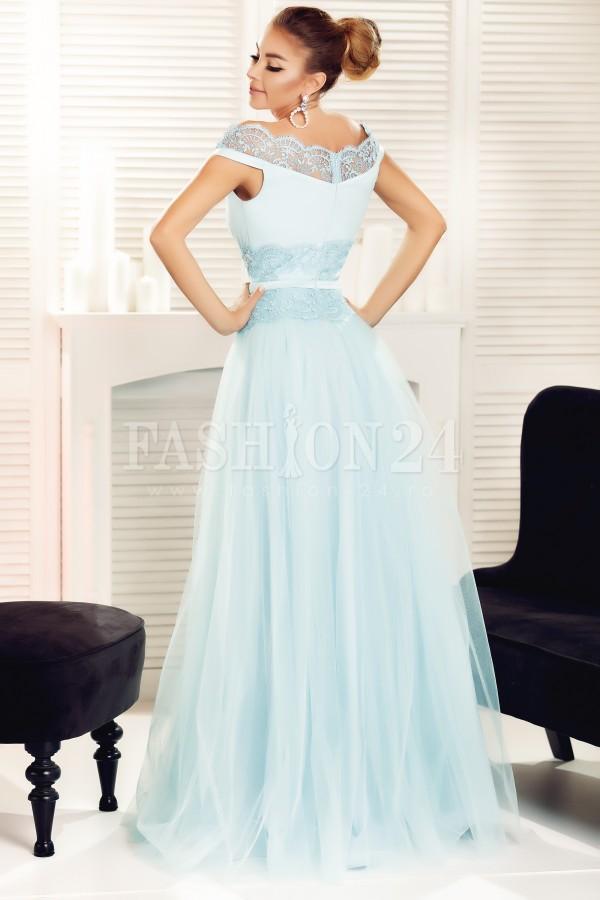 Rochie lunga Ariana bleu