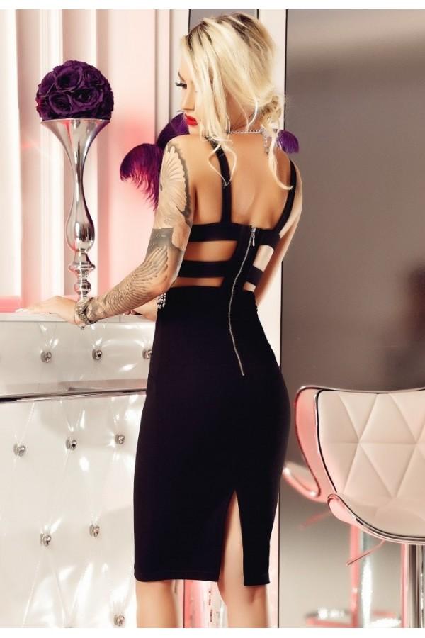 Rochie Ariana midi neagra