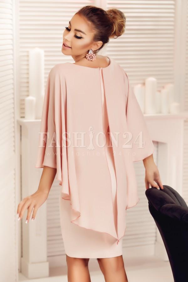 Rochie roz Seleny