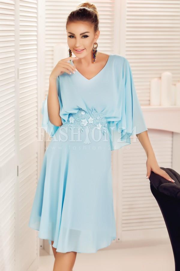 Rochie eleganta Liana bleu