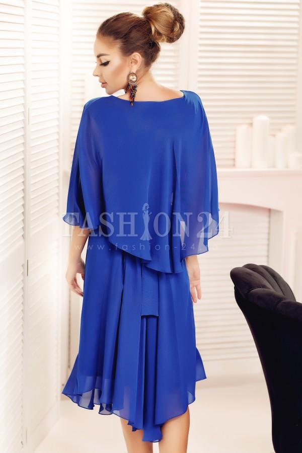 Rochie eleganta Liana albastra