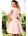 Rochie Diana roz turcoaz in clos