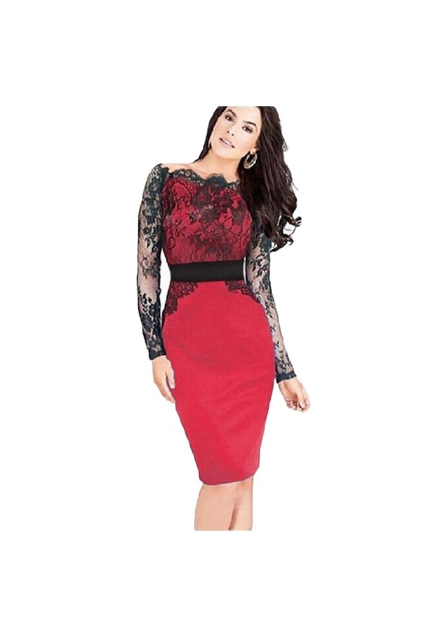 Rochie Nice Day Red
