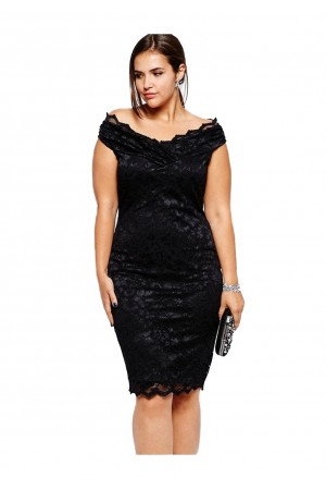 Rochie XXL Black Lace