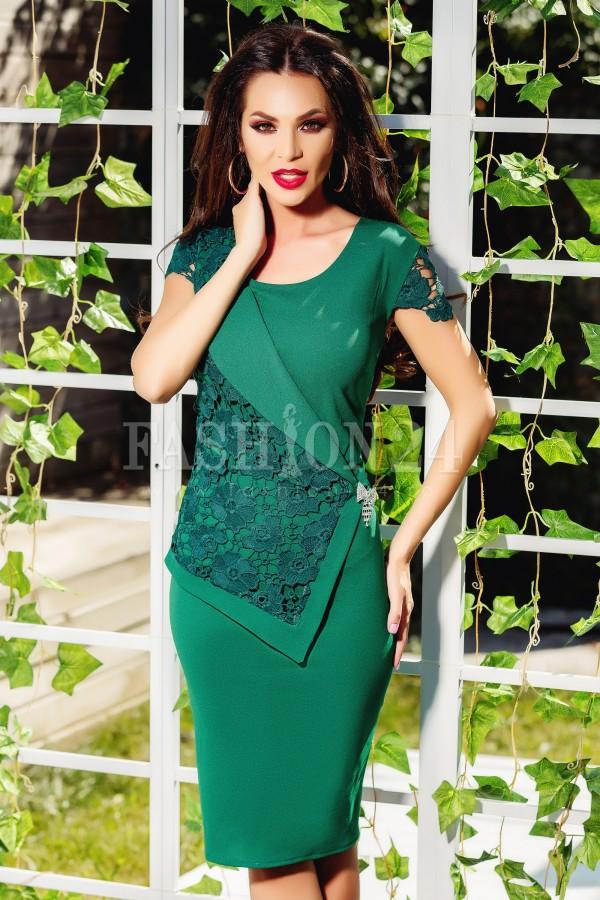 Rochie midi Sofia verde