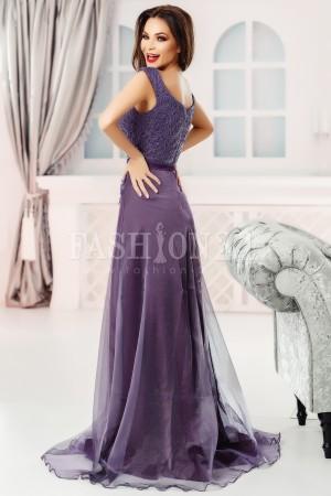 Rochie lunga Eva mov