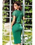 Rochie midi Mady verde