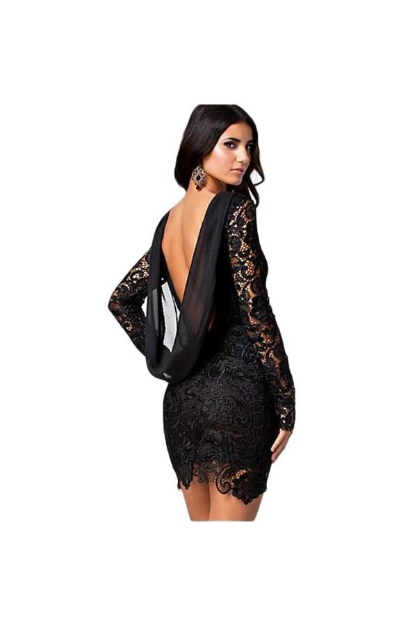 Rochie Black Lace Vintage