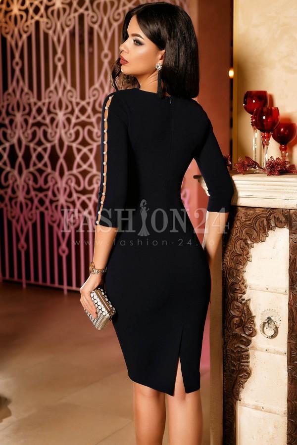 Rochie de seara Bianca neagra