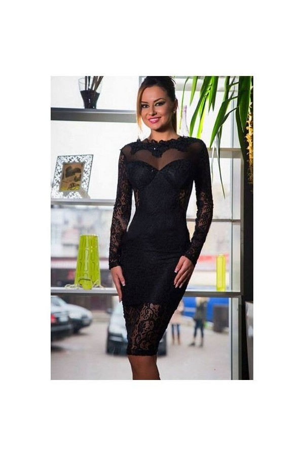 Rochie Backless Black
